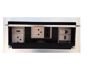 קופסת חשמל לשולחן ישיבות